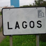 Lagos road sign